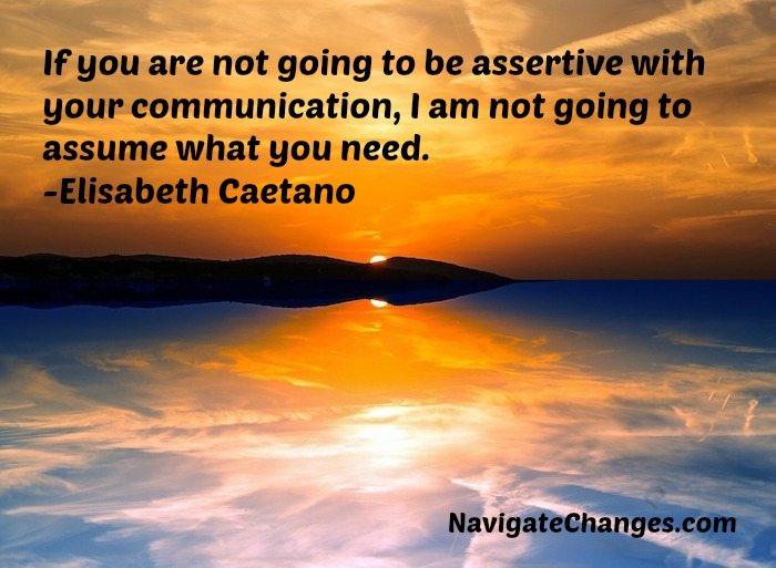 Assertiveness: Inspiration Focus 5/4/17